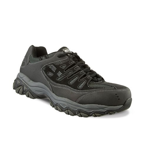 0532c8f21185d Skechers Work Relaxed Fit Cankton Men's Steel-Toe Shoes