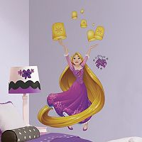 Disney's Tangled Sparkling Peel and Stick Giant Wall Decals by RoomMates