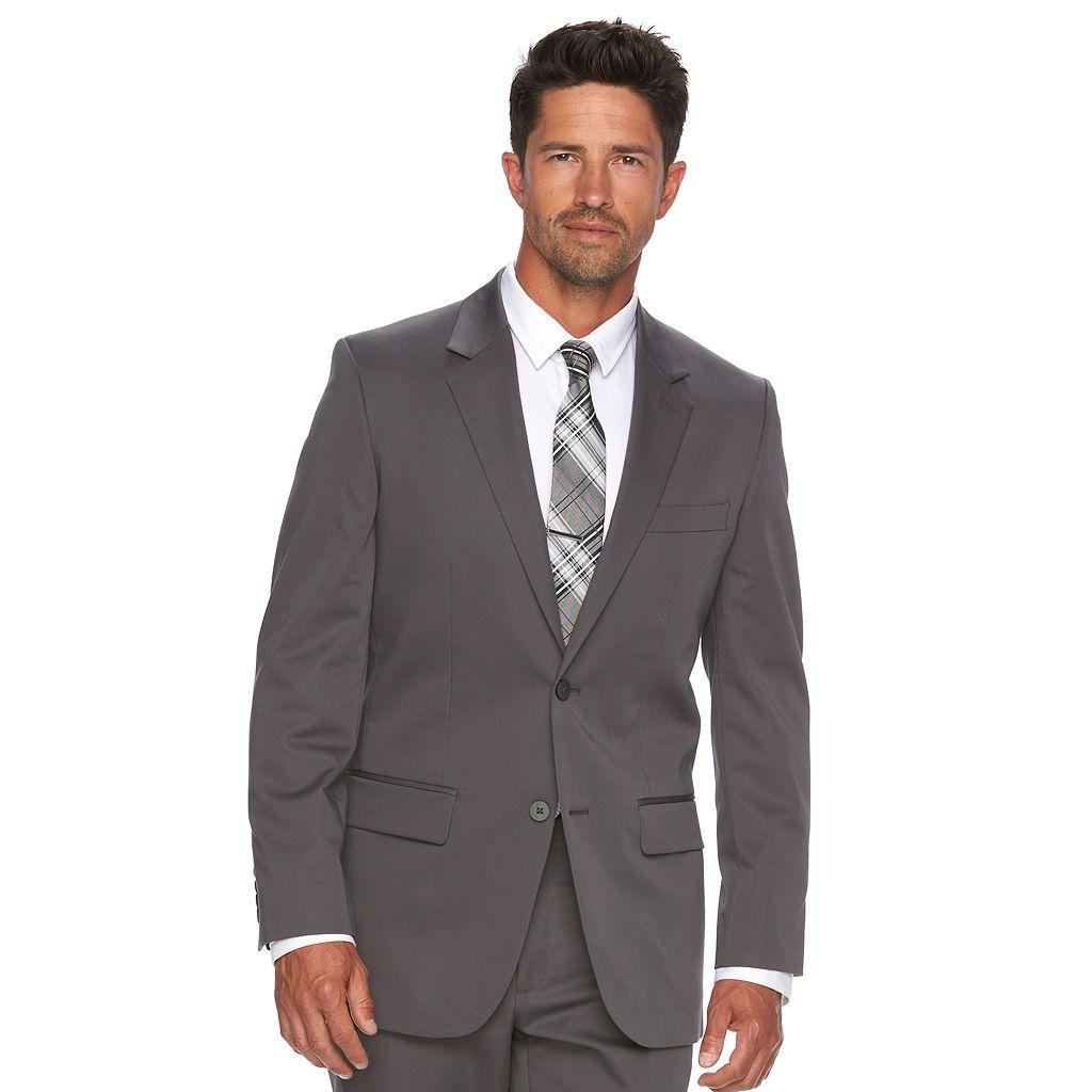 Men's Apt. 9 Slim-Fit Stretch Gray Suit Jacket