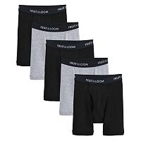 Boys 8-20 Fruit of the Loom Signature 4-pack + 1 Bonus Boxer Briefs