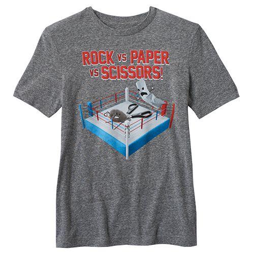 Boys 8-20 Rock, Paper, Scissors Tee