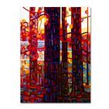 Trademark Fine Art Carnelian Morning Canvas Wall Art