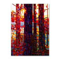 Trademark Fine Art Carnelian Morning Canvas Wall Art