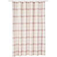 Lenox Holiday Nouveau Plaid Shower Curtain