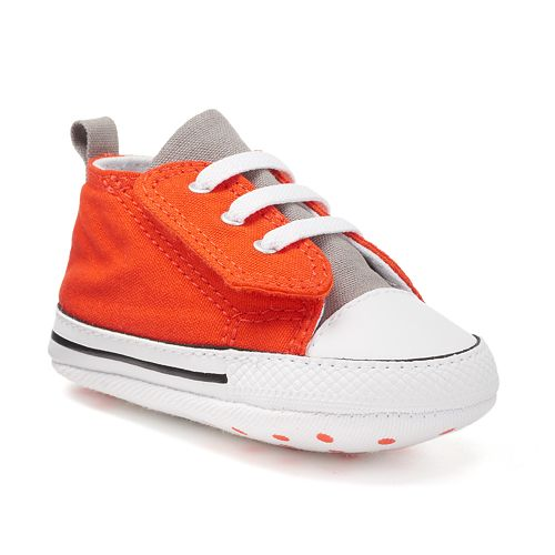 93a3574353cde1 Baby Converse Chuck Taylor All Star First Star Easy Slip Crib Shoes