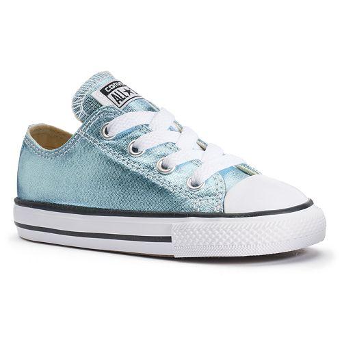 d8b45f0ce9d810 Toddler Converse Chuck Taylor All Star Metallic Shoes