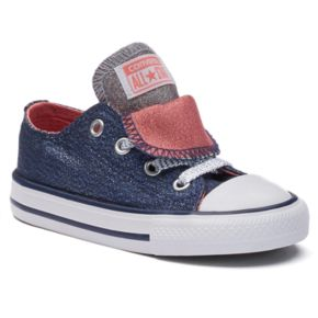 Toddler Converse Chuck Taylor All Star Shine Double-Tongue Shoes