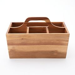 Food Network™ Acacia Wood Utensil Caddy