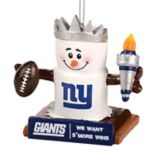 Forever Collectibles New York Giants S'more Snowman Christmas Ornament