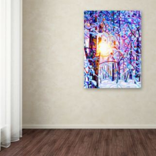 Trademark Fine Art Early Riser Canvas Wall Art