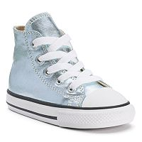 Toddler Converse Chuck Taylor All Star Metallic High-Top Sneakers