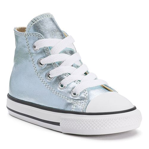 0f458099705 Toddler Converse Chuck Taylor All Star Metallic High-Top Sneakers