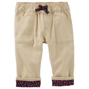 Baby Girl OshKosh B'gosh® Floral Cuffed Pants