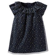 Baby Girl OshKosh B'gosh® Sparkle Star Print Tulle Dress