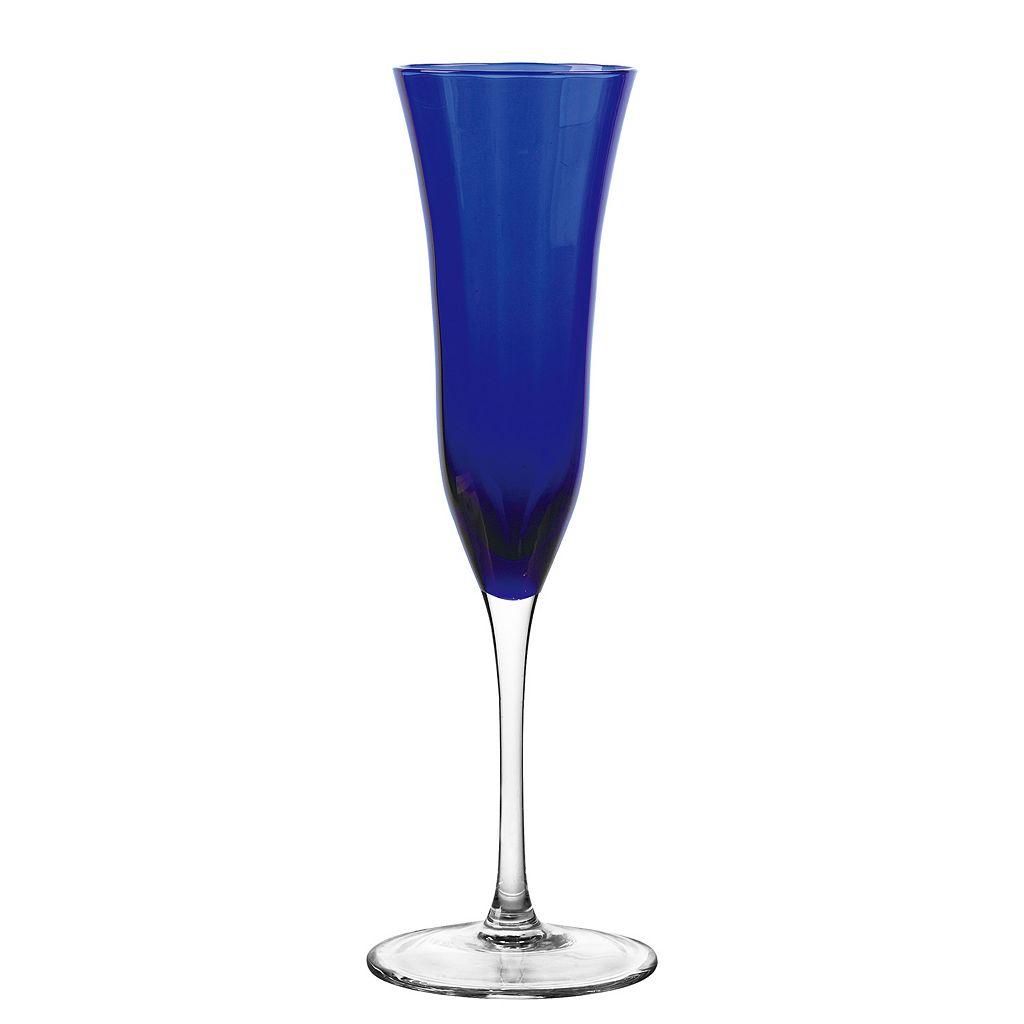 Qualia Glass Meridian 4-pc. Champagne Flute Set