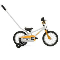 Kids ByK E-250 14-Inch Wheel 3-in-1 Push Bike with Training Wheels