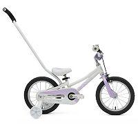 Kids ByK E-250 14-Inch Wheel 3-in-1 Push Bike with Training Wheels