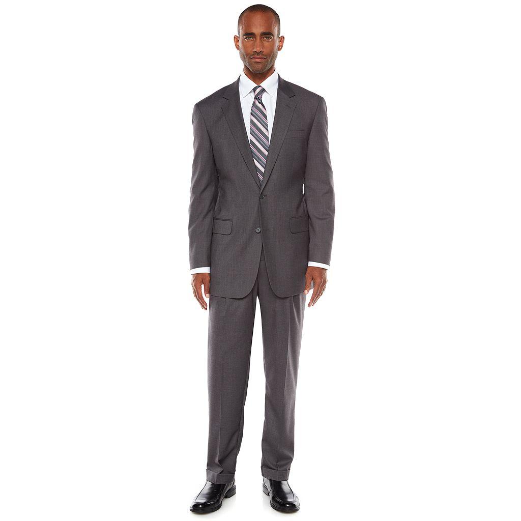 Big & Tall Croft & Barrow® Classic-Fit Unhemmed Suit