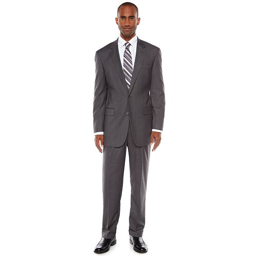 Big & Tall Croft & Barrow® Classic-Fit Unhemmed Suit