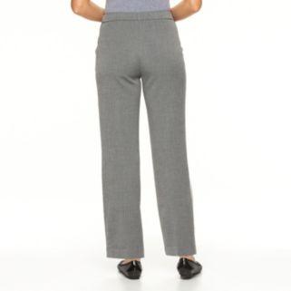 Petite Croft & Barrow® Classic Fit Houndstooth Dress Pants