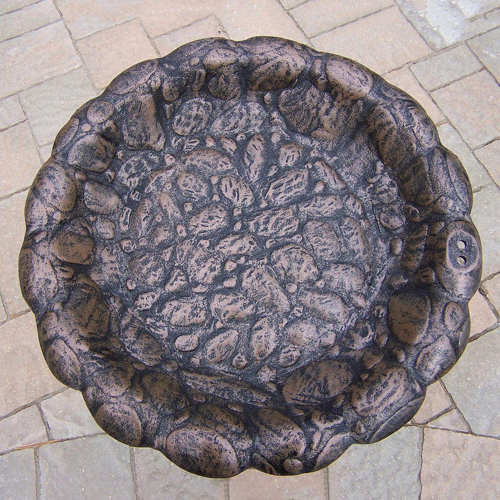 Faux Rock Bird Bath