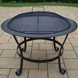 Cast Iron 30-inch Round Fire Pit