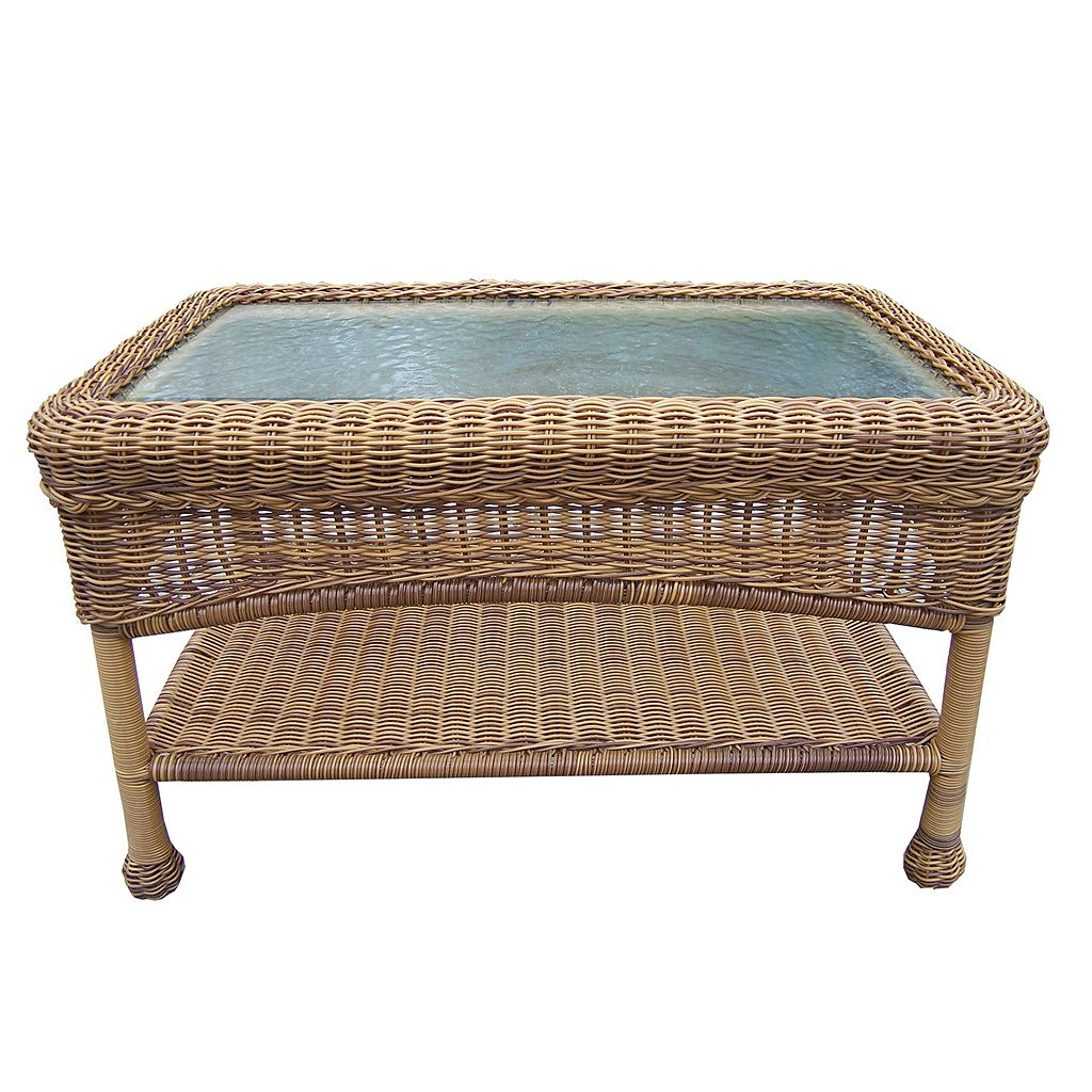 Resin Wicker Outdoor Coffee Table