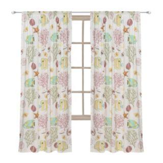 Calypso 1-Panel Window Curtain
