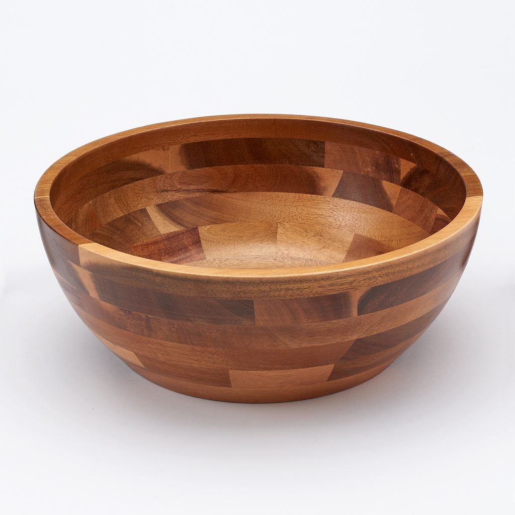 Food Network™ 11.75-in. Acacia Wood Serving Bowl
