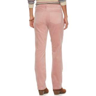 Women's Chaps Corduroy Straight-Leg Pants