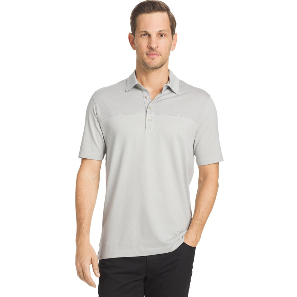 Men's Van Heusen Classic-Fit Colorblock Polo