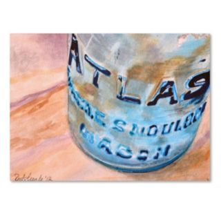 Trademark Fine Art Atlas Jar Canvas Wall Art