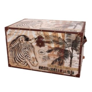 Household Essentials 2-piece Animal Kingdom Trunk Set