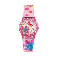 Red Balloon Kids' Time Teacher Flower Watch