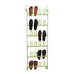 Household Essentials 12-Pair Over The Door Shoe Rack by