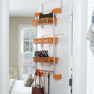 Household Essentials 3 Basket Over The Door Organizer