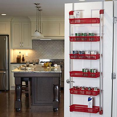 Household Essentials 6 Basket Over The Door Organizer