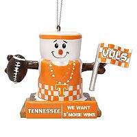 Forever Collectibles Tennessee Volunteers S'more Snowman Christmas Ornament
