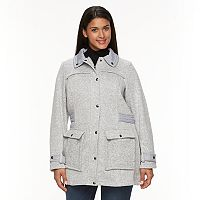 Plus Size Weathercast Fleece Walker Jacket