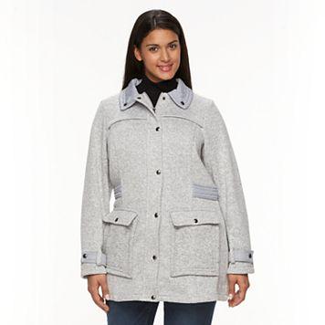 Plus Size Weathercast Fleece Walker Jacket