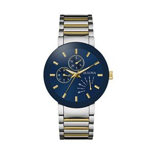 Bulova Men's Classic Two Tone Stainless Steel Watch - 98C123