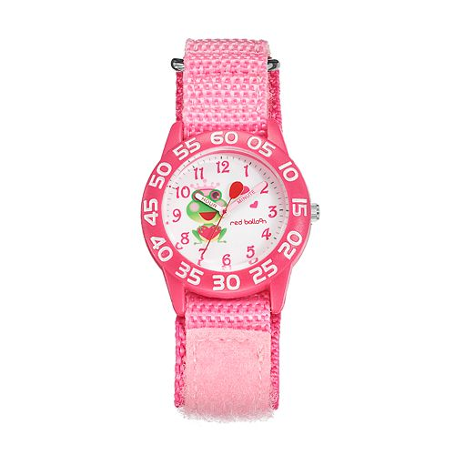 Red Balloon Kids' Time Teacher Frog Prince Watch