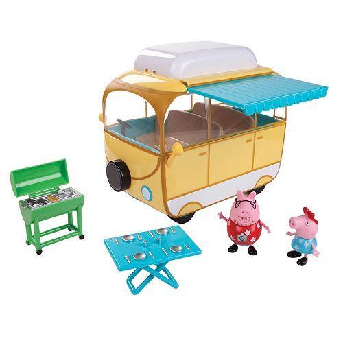 Peppa Pig Family Camper Van Set