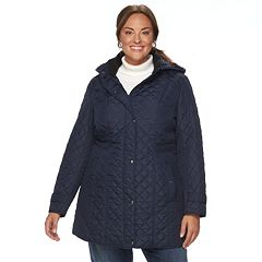 Plus Size Weathercast Quilted Jacket