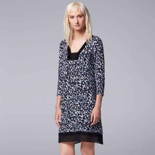 Women's Simply Vera Vera Wang Pajamas: Midnight Senses Sleep Shirt