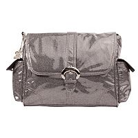 Kalencom A Step Above Buckle Bag Crystals Black