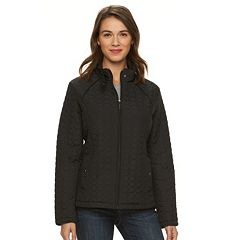Women's Weathercast Ribbed-Side Quilted Jacket
