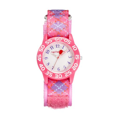 Red Balloon Kids' Time Teacher Argyle Watch
