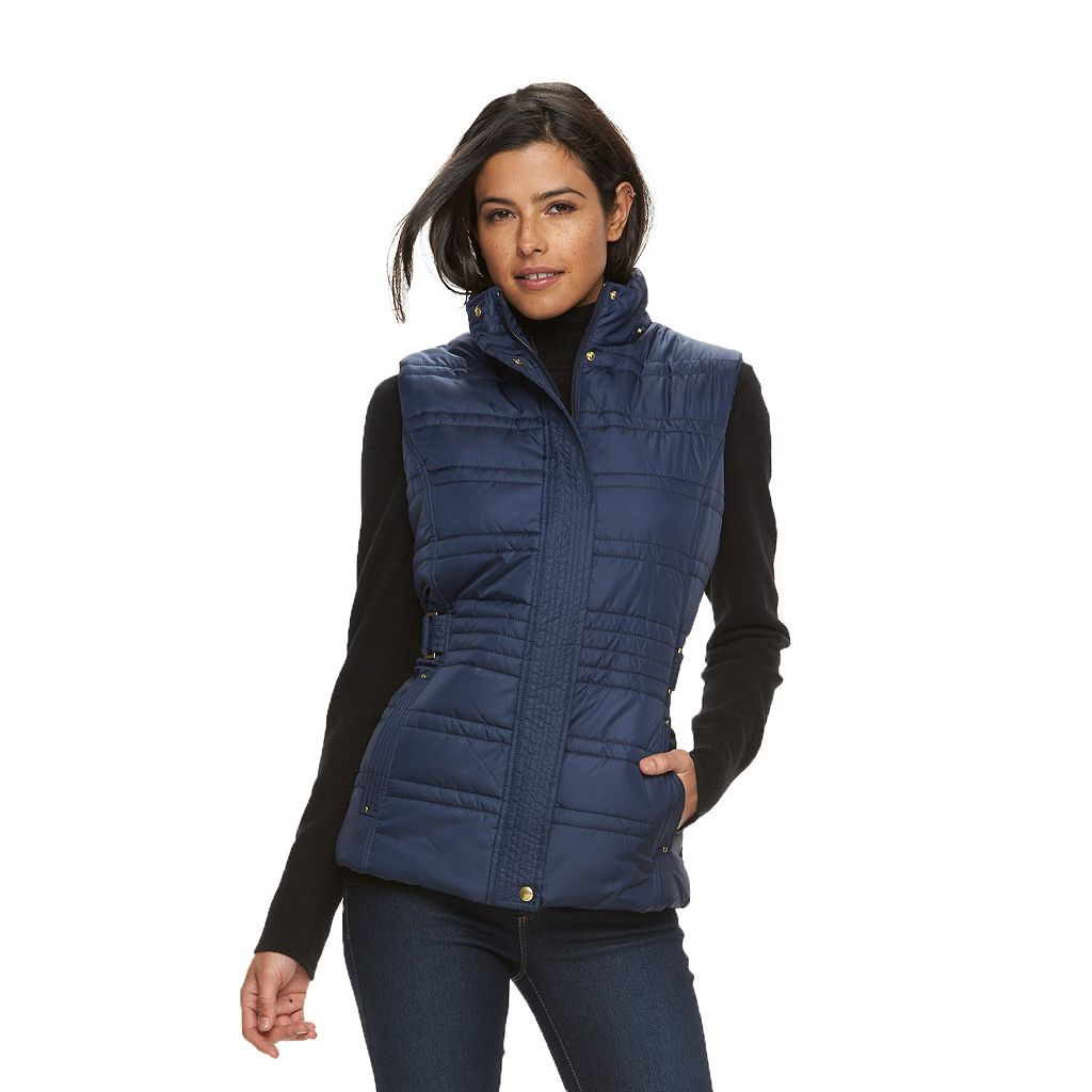 Women's Weathercast Hooded Puffer Vest