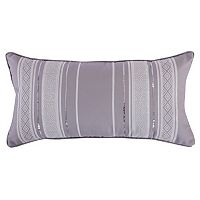Architectural Print Sequin Pillow